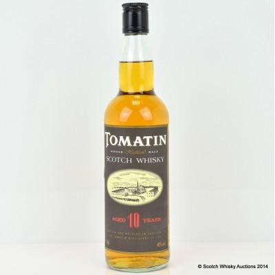 Tomatin 10 Year Old