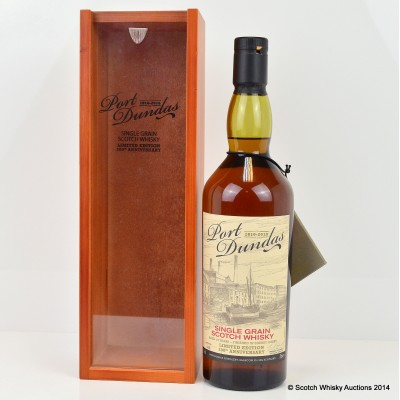 Port Dundas 200th Anniversary Single Grain 19 Year Old