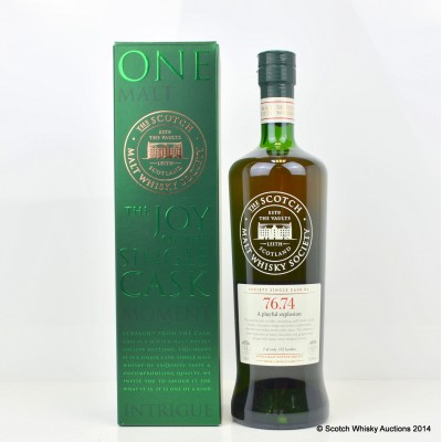 SMWS 76.74 Mortlach 14 Year Old