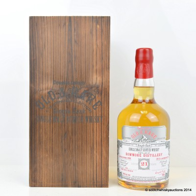 Bowmore 1990 21 Year Old Douglas Laing's Old & Rare