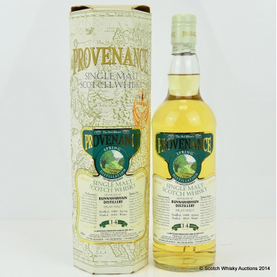 Bunnahabhain 1989 14 Year Old Provenance