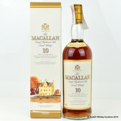 Macallan 10 Year Old 1L