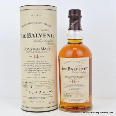 Balvenie Roasted Malt 14 Year Old