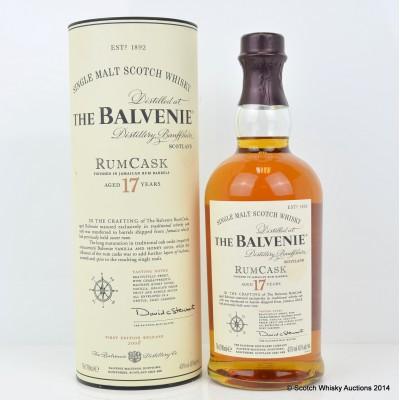 Balvenie RumCask 17 Year Old