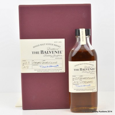 Balvenie DoubleWood 17 Year Old Sample 10cl