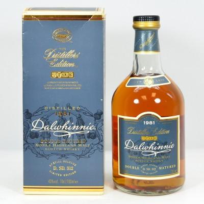 Dalwhinnie 1981 Distillers Edition