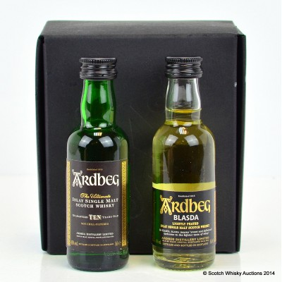 Ardbeg Blasda Limited Release & 10 Year Old Minis Set 2 x 5cl
