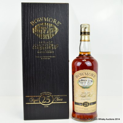 Bowmore 25 Year Old 75cl US Import